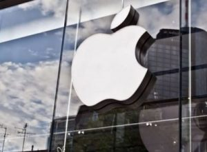 Apple could unveil its own glasses in 2018. The wearable would connect wirelessly to the iPhone (file photo)