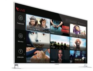 uMax85 is an Android-powered TV and supports both HDR standards